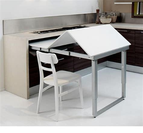 space saving kitchen island  pull  table homesfeed