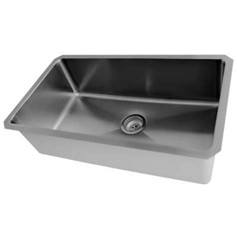 home depot sinks canada acri tec stainless steel undermount kitchen sink with
