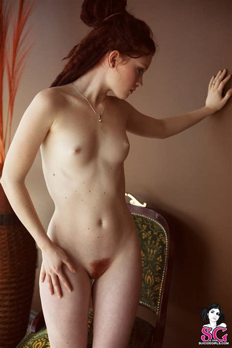 opaque girl with ginger dreadlocks redbust