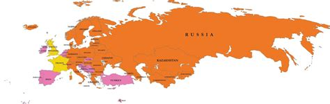 map  russia  europe map pictures