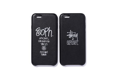 stussy iphone great iphone 6 leather cases by stussy and sophnet