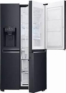 Kühlschrank Schwarz Side By Side : side by side k hlschr nke vergleich von ~ Frokenaadalensverden.com Haus und Dekorationen