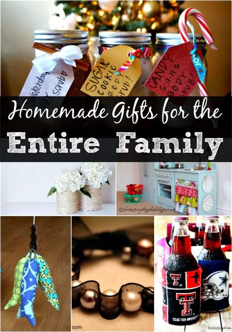 diy christmas gift ideas   entire family