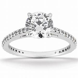 200ct round cut diamond engagement ring wedding band set With round engagement ring with wedding band