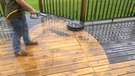 3a cleaning deck with rotary washer