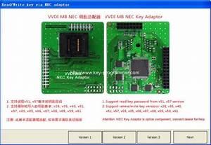 How To Use Nec Adapter For Vvdi Mb Bga Tool  U2013 Car Key