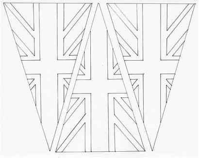 Bunting Printable Union Jack Royal Step