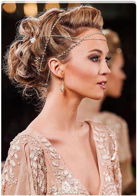 Hair & rhinestone chains Hair adornments Hair styles