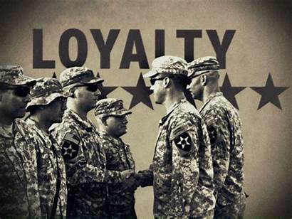 Army Military Values Soldier Loyalty Quotes Animated