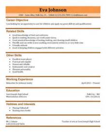 How To Write A Resume For Babysitting by Resume Berathen