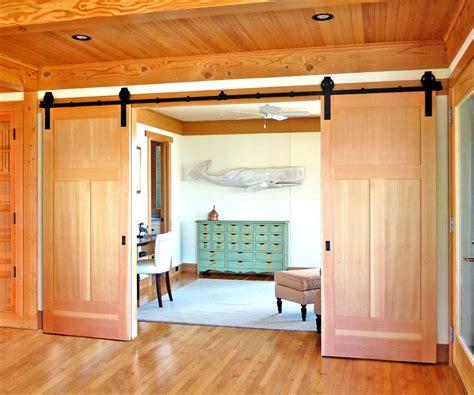 barn door decor hall traditional  trim  barn doors