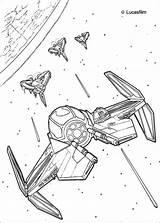 Wars Coloring Star Pages Spaceships War Spaceship sketch template