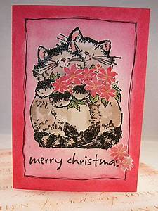 Cat Christmas Cards Animal Christmas Card Ideas