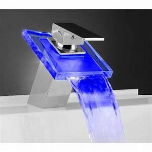 Led Pour Salle De Bain : robinet led mitigeur pour salle de bain avec changement de ~ Edinachiropracticcenter.com Idées de Décoration