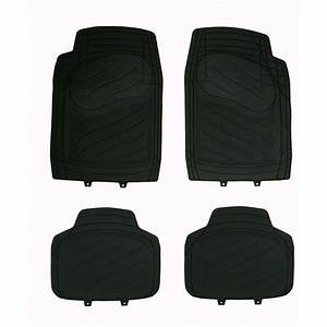 4 tapis de voiture universels en pvc norauto noir norautofr With tapis 2008 norauto