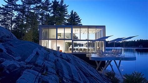 the extraordinary glass house in lakefield ontario home