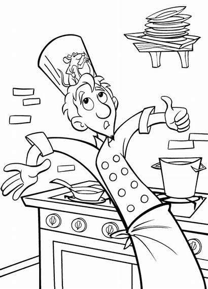Coloring Ratatouille Pages Disney Coloringpages1001