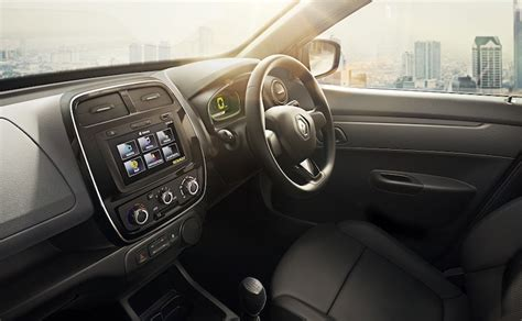 renault kwid interior seat renault kwid 1 0 litre launch details revealed bookings