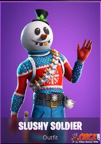fortnite battle royale slushy soldier orczcom