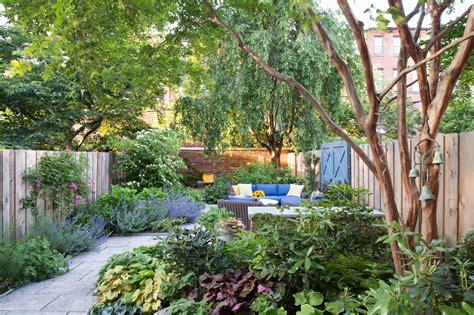 Backyard Garden by Creating A Garden Oasis In The City The New York Times