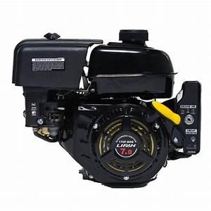 Lifan 7 Hp 3  4 In  Horizontal Shaft Electric Start Gas Engine-lf170f-bdq