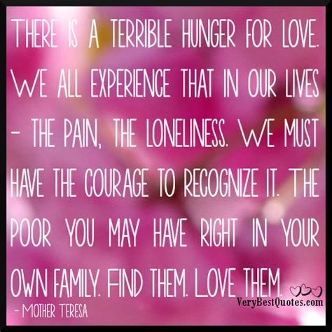 mother teresa quotes  hunger quotesgram