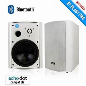 Bluetooth 6 50 U2033 Indoor  Outdoor Weatherproof Patio Speakers