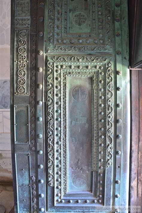 beautiful door hagia sophia