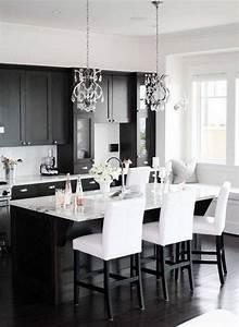 30 Monochrome Kitchen Design Ideas