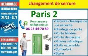Changement De Serrure Paris : changement de serrure paris 2 ouverture de porte serrurier paris idf ~ Mglfilm.com Idées de Décoration