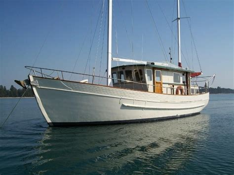 Bay Fisher Boats Nz by Motorsailer Converted Fishing Boat For Sale Trade Boats