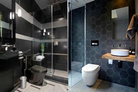 elegant bathroom designs  black details luxury