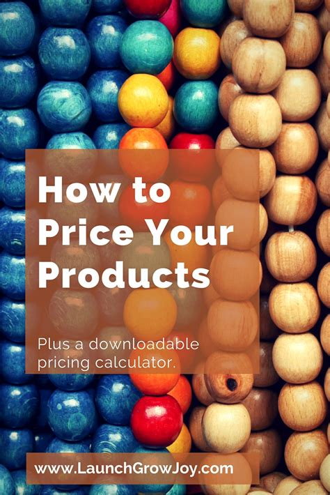 How to price your products - with a FREE pricing calculator