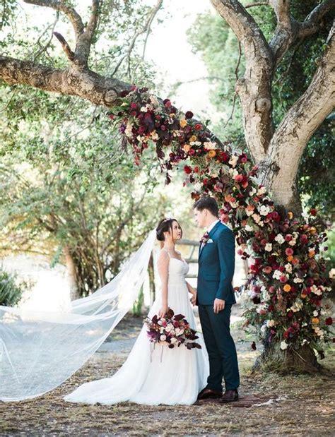 Tree Backdrop For Wedding by 30 Gorgeous Tone Wedding Florals Ideas Weddingomania