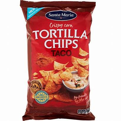 Taco Chips Tortilla Tex Mex Flavoured Maria