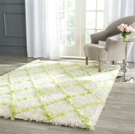 safavieh moroccan rug safavieh ivory green moroccan shag area rugs msg343d