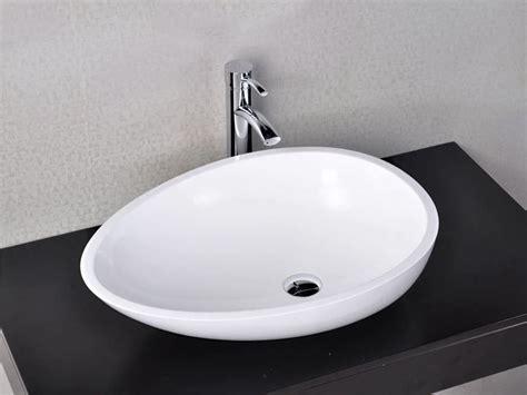 Badezimmer Fliesen Matt Oder Glänzend by Cesano Gl 228 Nzend Bad Waschbecken Aufsatzmodell