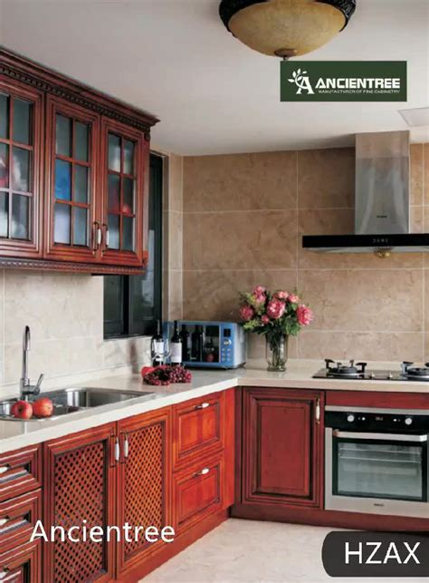 wholesale solid wooden painting formica birch wood kitchen