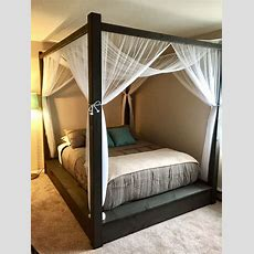 Best 25+ Canopy Bed Curtains Ideas On Pinterest  Bed