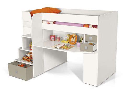 lit superposé avec bureau intégré conforama lit mezzanine 90x200 cm montana pas cher avis et prix en