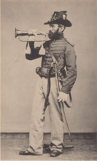 Bugler Civil War Taps Cavalry Buglers American