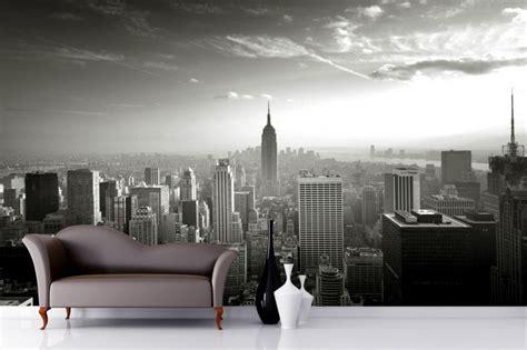 New York Bedroom Wallpaper Ebay by Empire State Skyline Wallpaper Mural Room New York
