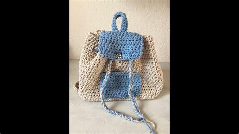 tuto sac à tuto sac a dos au crochet