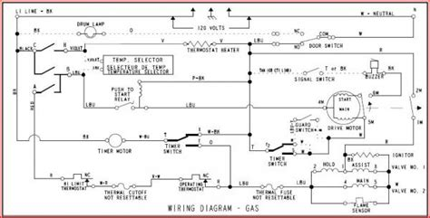 schematic for whirlpool gas dryer get free image about