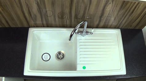 buy ceramic kitchen sink reginox rl304cw ceramic kitchen sink youtube