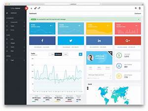20 Free Bootstrap Admin Dashboard Themes 2018 TalkElement