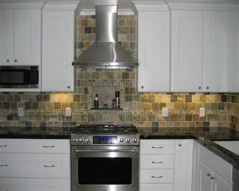 slate tile kitchen backsplash slate tile backsplash houzz
