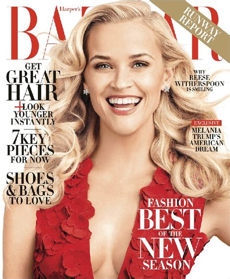 Reese Witherspoon For Harper's Bazaar Us By Alexi Lubomirski