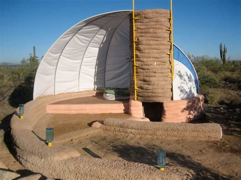 Helical Earthbag Shelter Built By Taliesin Student