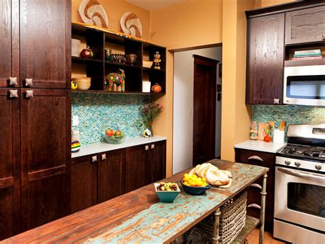 eclectic kitchen ideas kitchen cabinet paint pictures ideas tips from hgtv hgtv